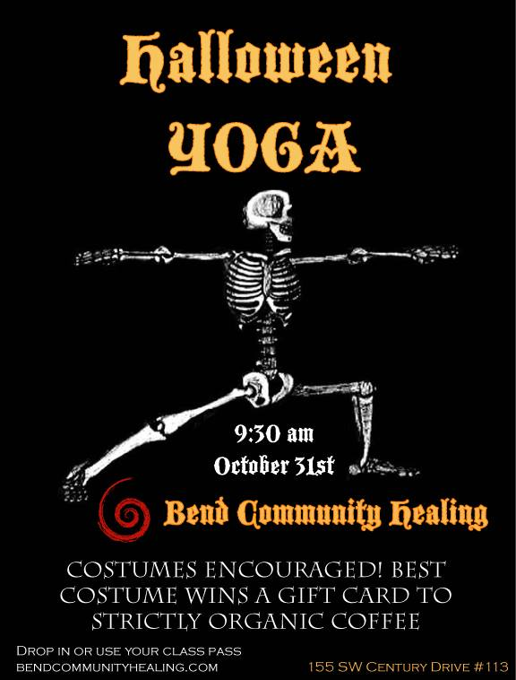 Yoga in Bend Oregon at Bend Community Healing